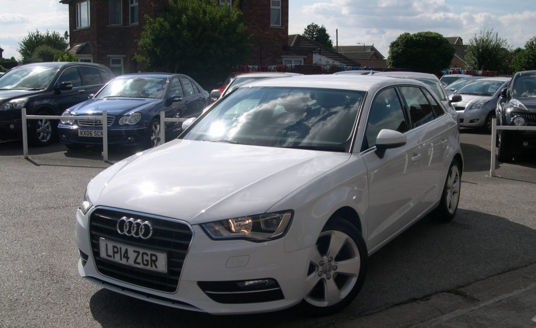 Audi A3 White 001
