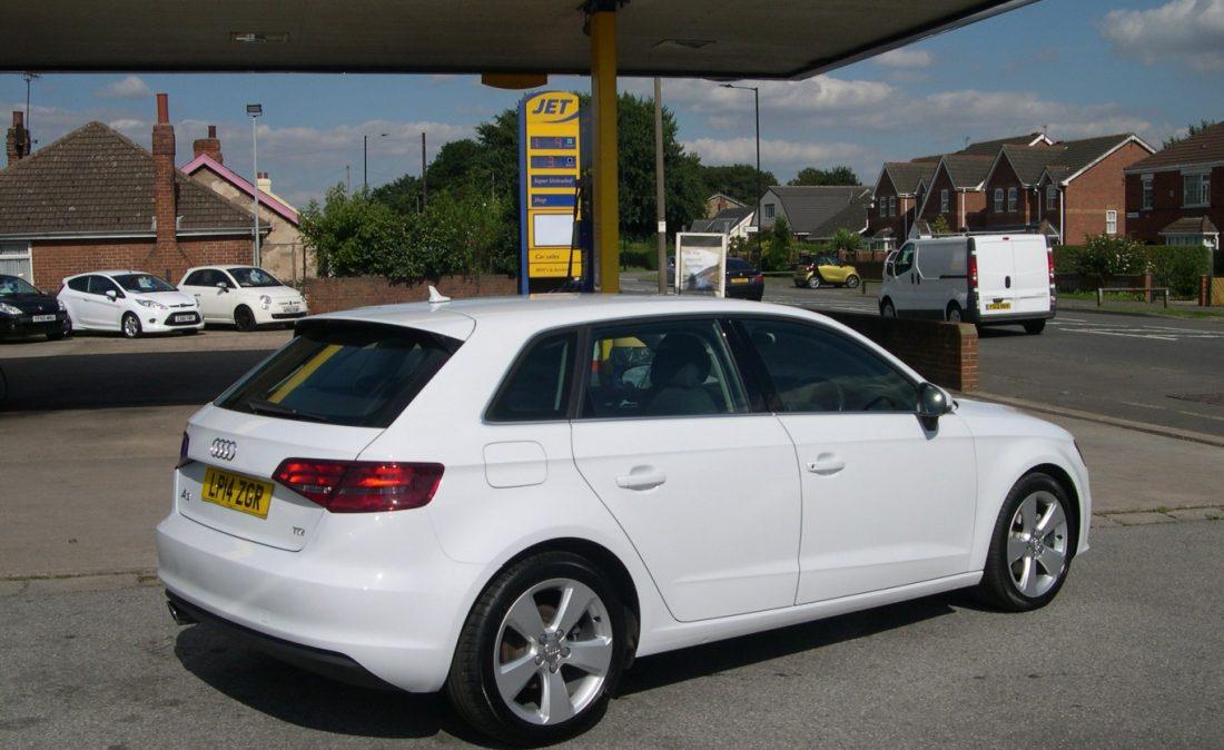 Audi A3 White 006