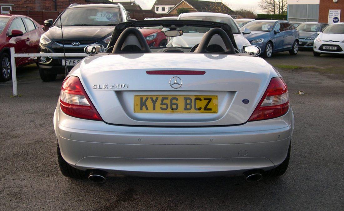 Mercedes SLK200 008